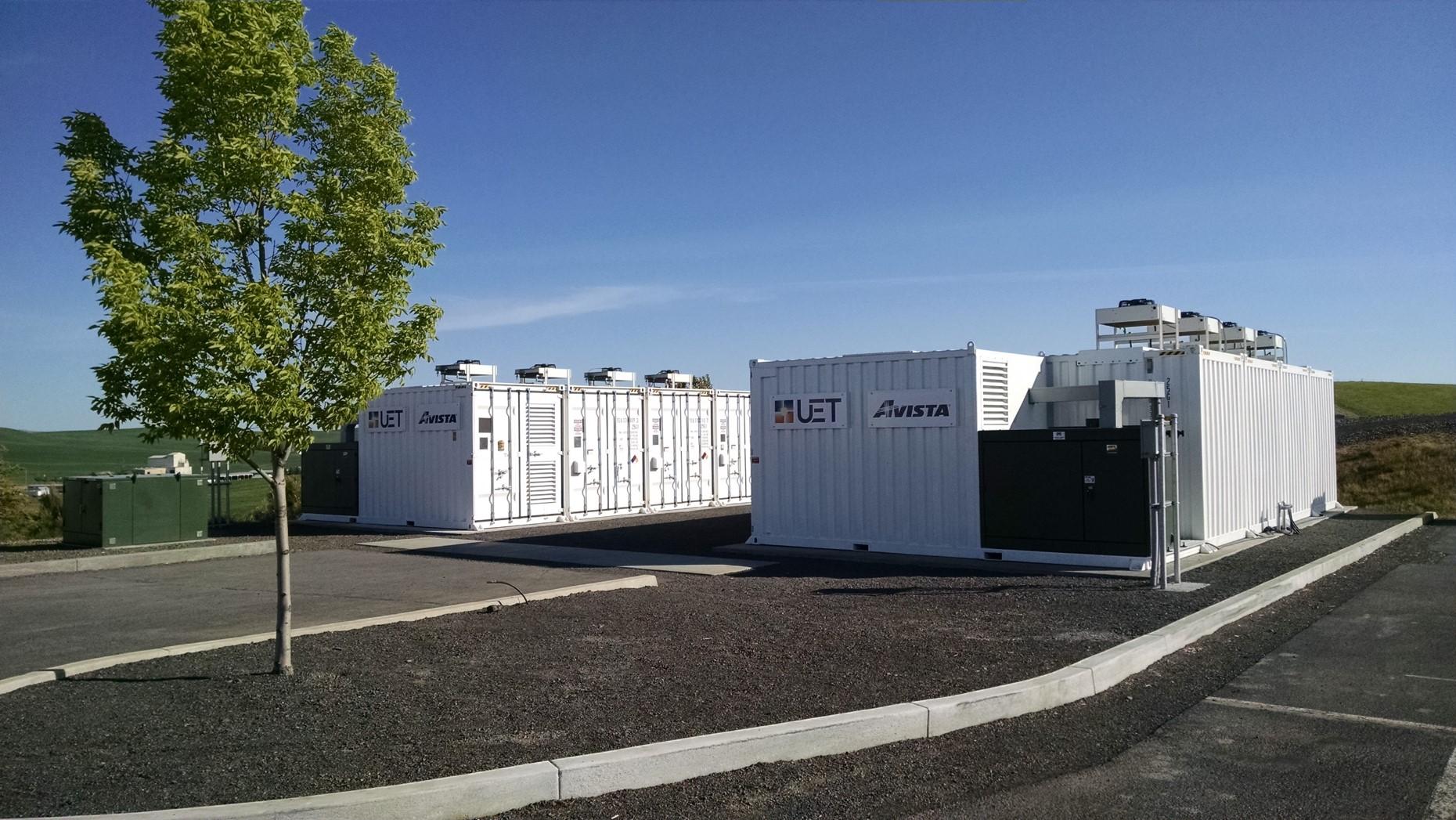 Vanadium Redox Flow Battery Storage